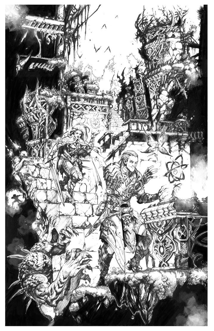 Ruins of lost time - Dorien by Raapack