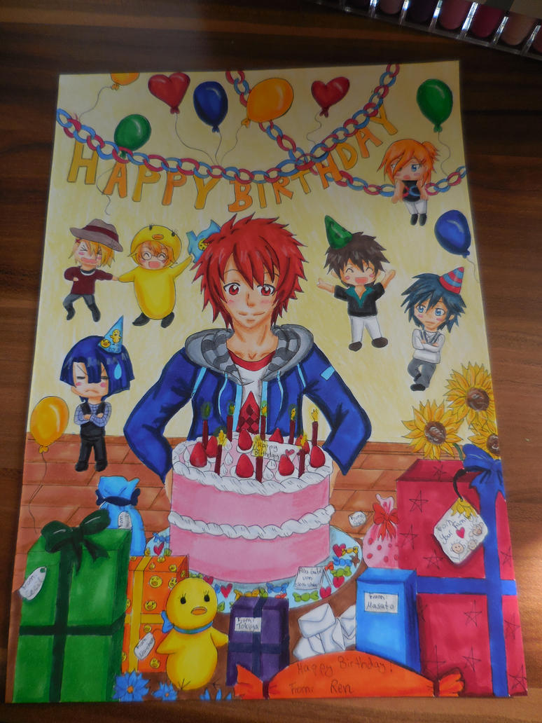 Happy Birthday Otoya by Himawari91
