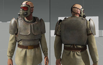 Cadian style infantry gear WIP by T2Gibbon