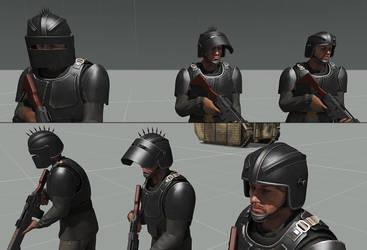 Renegade Helmet by T2Gibbon