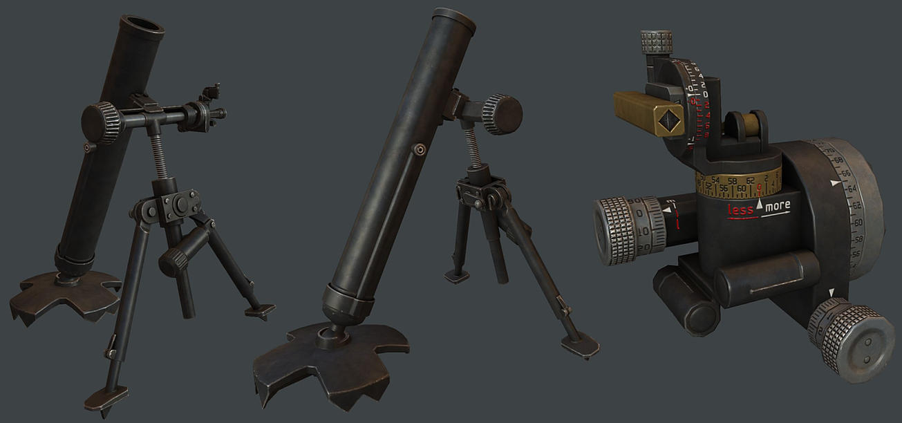 Infantry Mortar by T2Gibbon