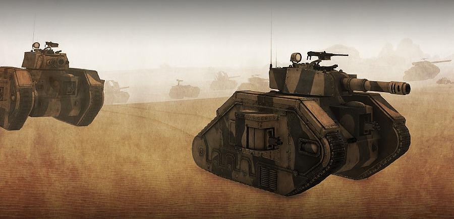 Tank advance by T2Gibbon