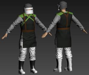 Chaos Renegade uniform (custom, WIP) by T2Gibbon