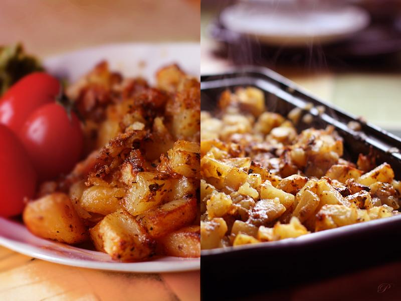 Roasted potato by brunettitude