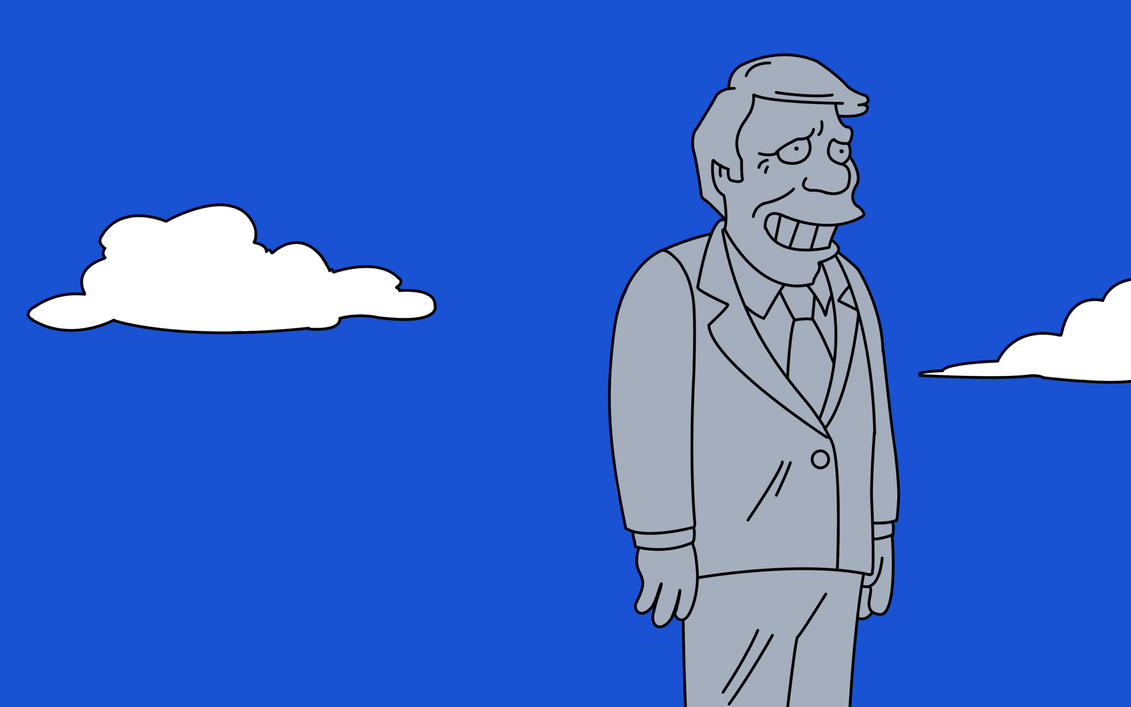 The Simpsons Jimmy Carter by Muro91