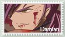 Damian stamp by marianajacomesilva