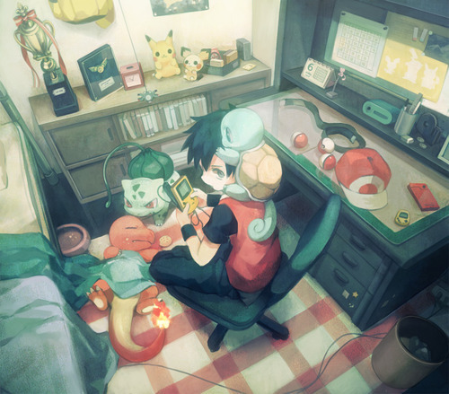 Pokemon trainer by PruebaD