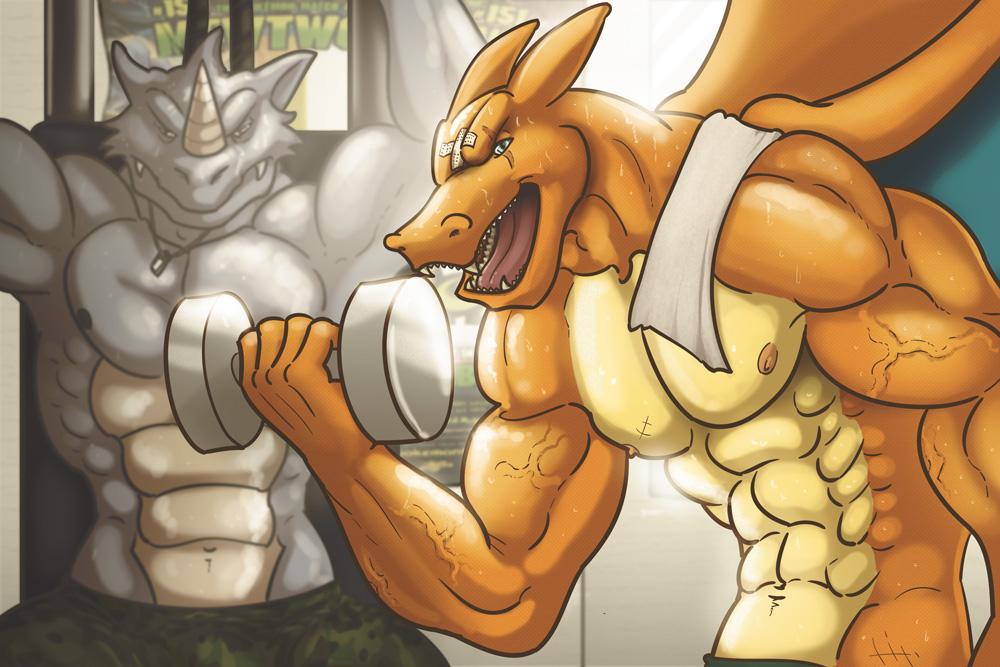 Pokemon Gym by Bogrim