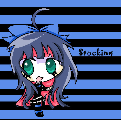 Chibi Stocking by BunnitchRox
