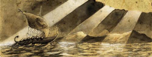 Voyage Through Eartsea by draldede