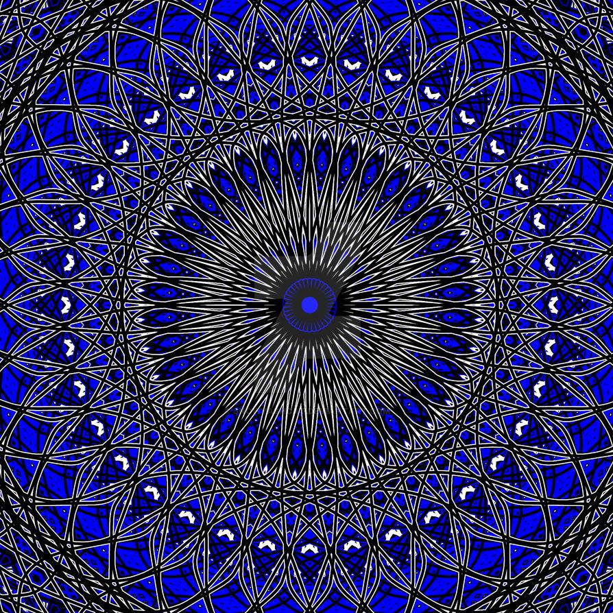 Blue thing by SnowyAshCat