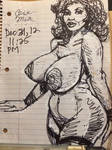 Busty Cara Mia/ 12/31/12 by potente789