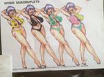 The Vivian Quadruplets  by potente789