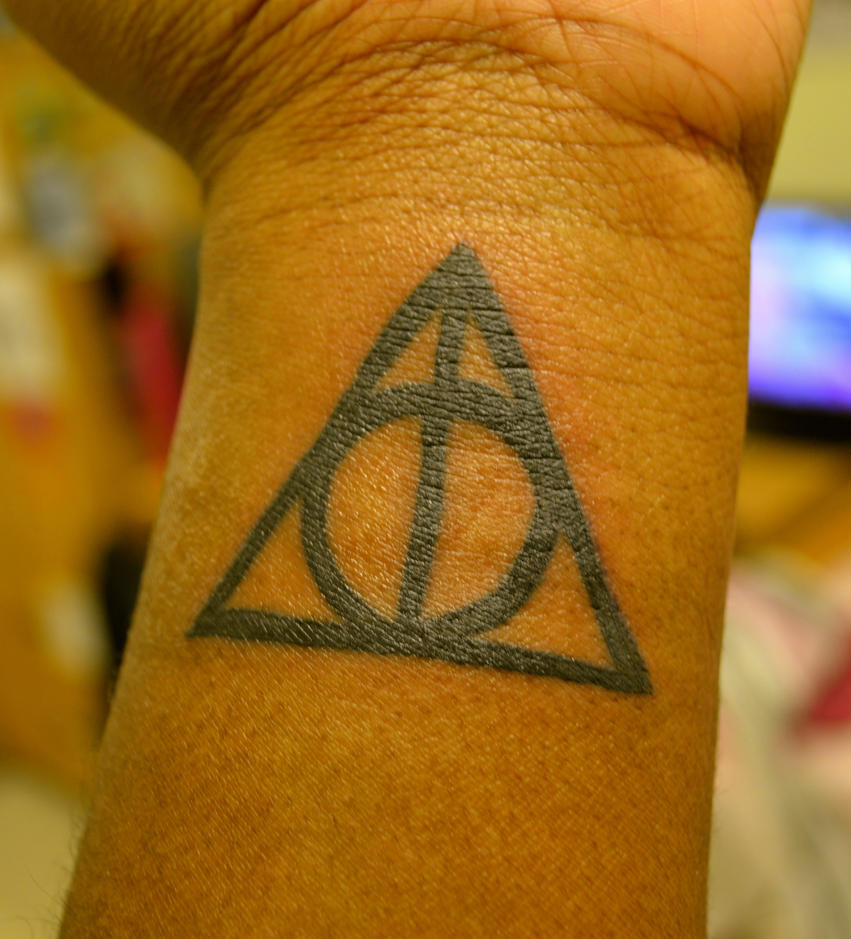 Deathly hallows tattoo by eden richardson on deviantart deathly hallows tattoo by eden richardson buycottarizona
