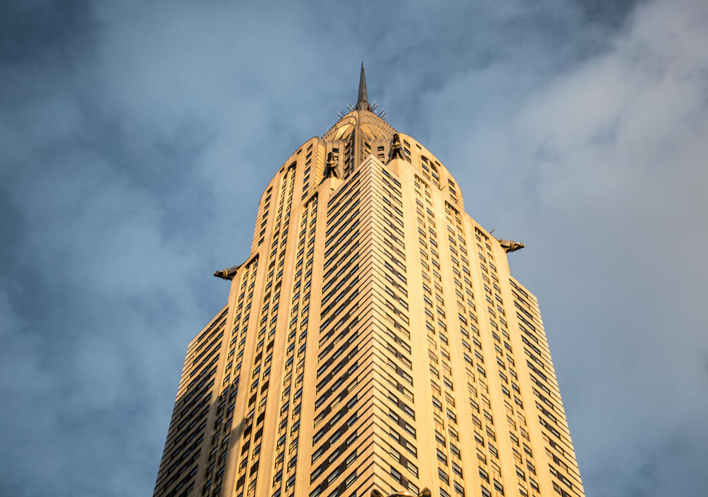 Chrysler Building by Eden-Richardson