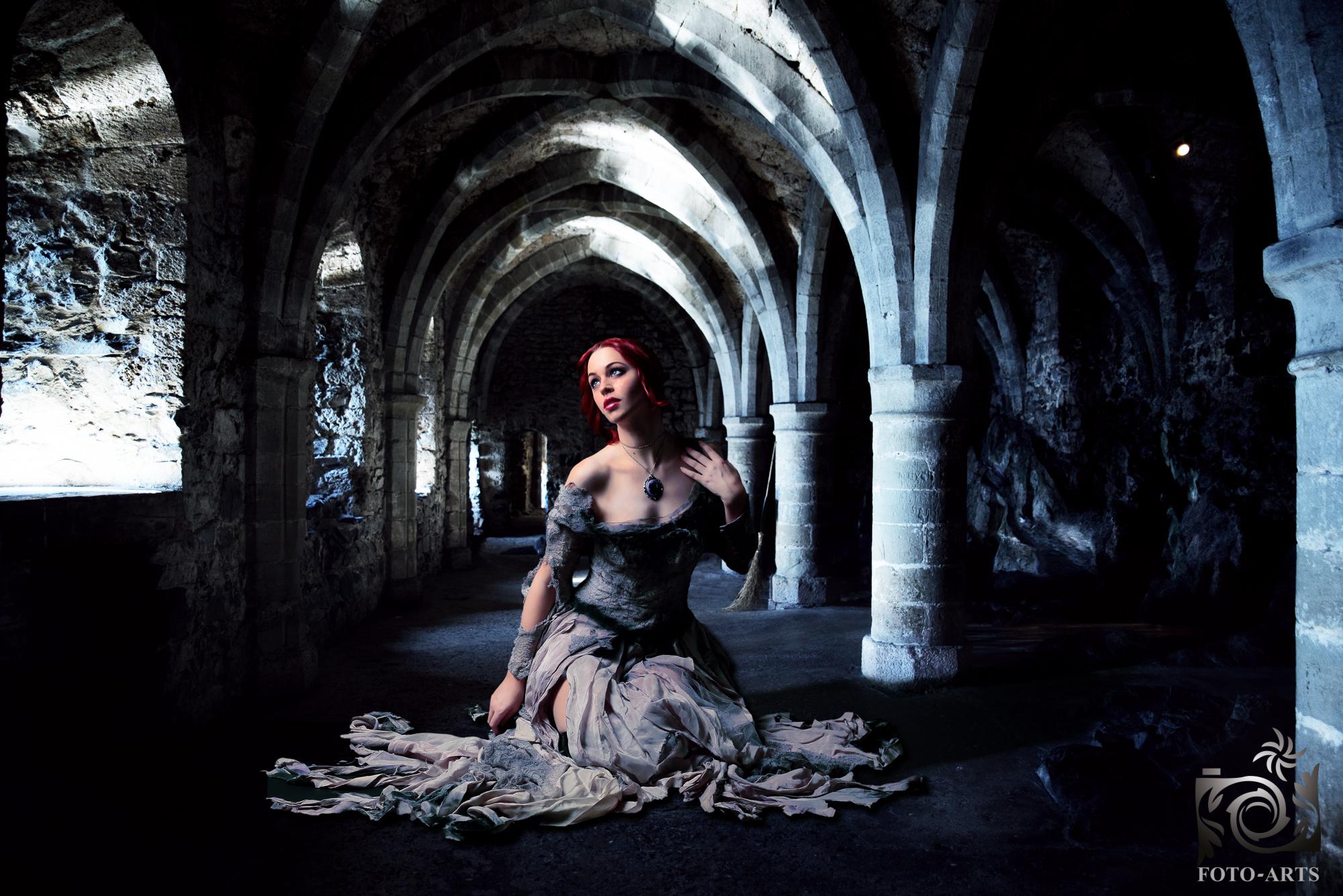 Girl in a Castle