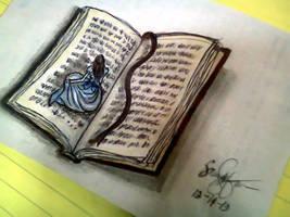 bookworm by HalimawNgaEh