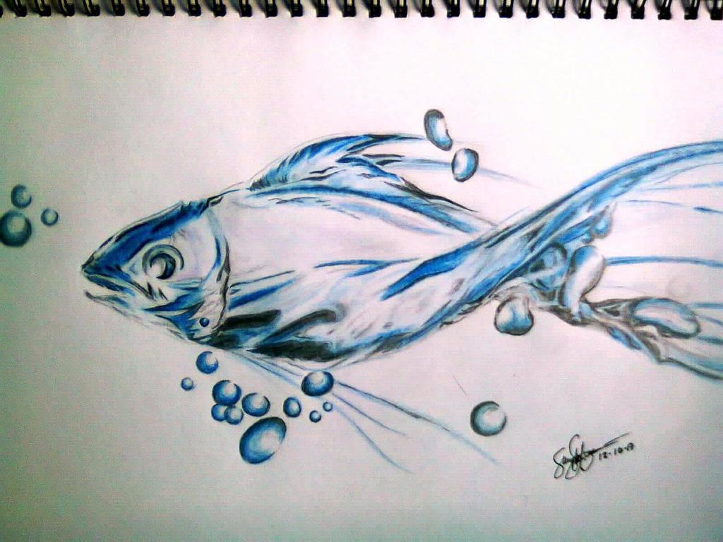 fish by HalimawNgaEh
