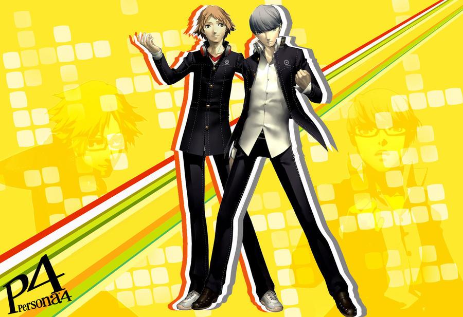 Persona 4 Characters Persona 4 Main