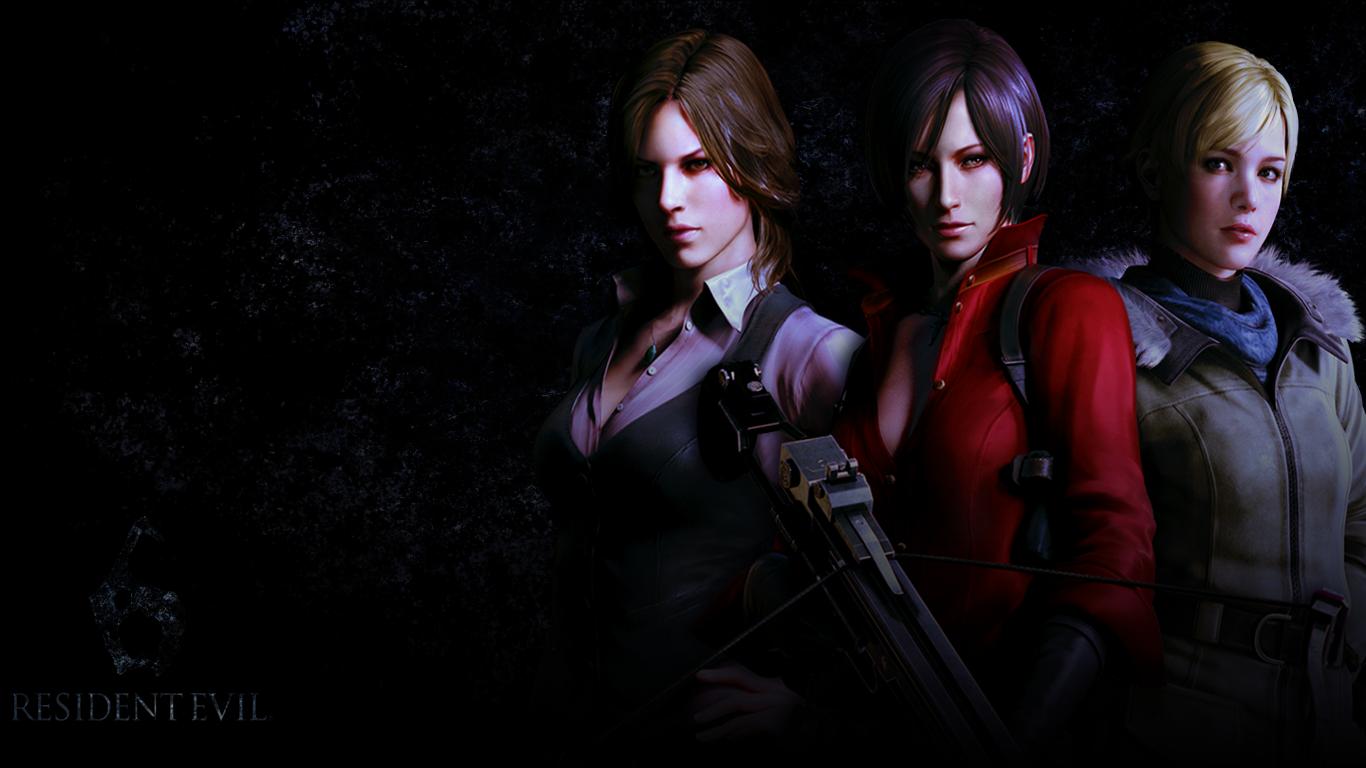 Ladies Of Resident Evil 6 Wallpaper By Wastingnight On Deviantart