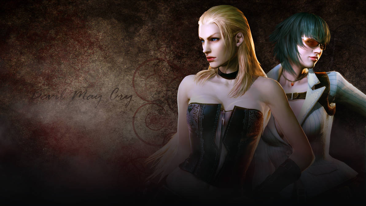 Devil May Cry 4 Trish Lady Wallpaper By Wastingnight On Deviantart