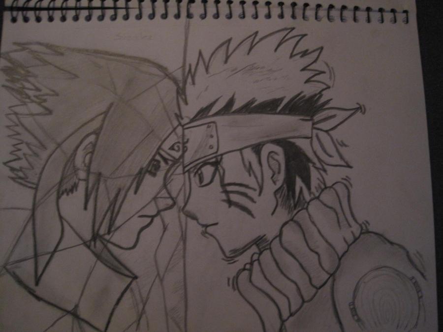 naruto and sasuke by nami94