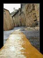 Yellow Line by Ricoo