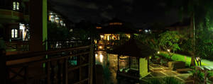 Bali Hotel Night View
