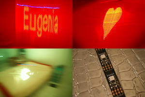 Fun art with Led Strip and Raspberry PI