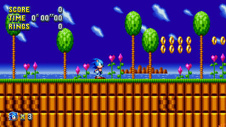 Sonic Mania - Green Hills Zone