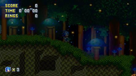 Sonic Mania - Mushroom Hill Zone Act 2