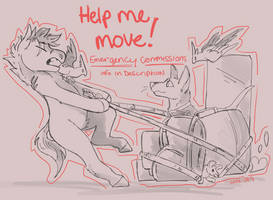 moving emergency commissions