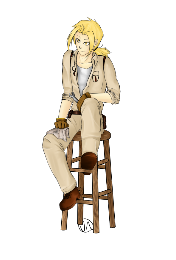 FMA:L Aaron by WarriorRedwaller