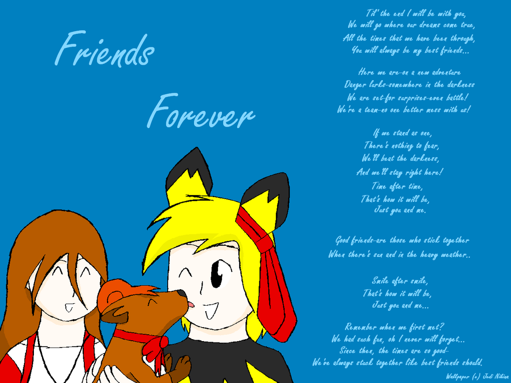 friends forever wallpaperjedinikina on deviantart