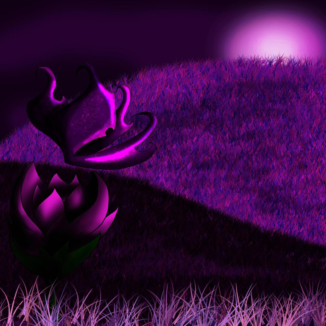 Dark Purple Butterfly Wallpaper