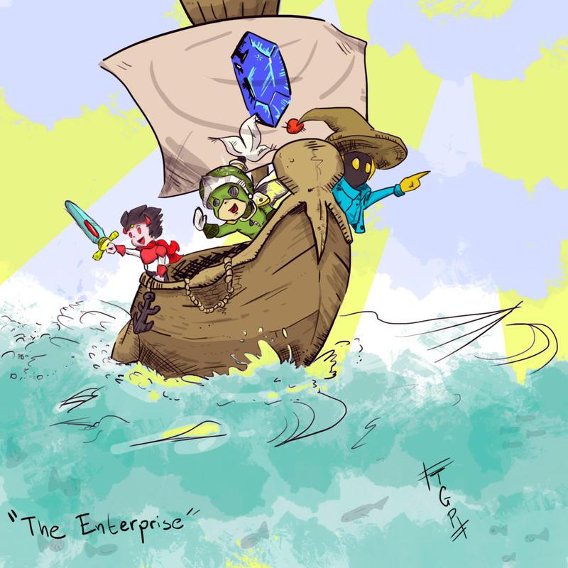 The Enterprise by TheGreenPiece