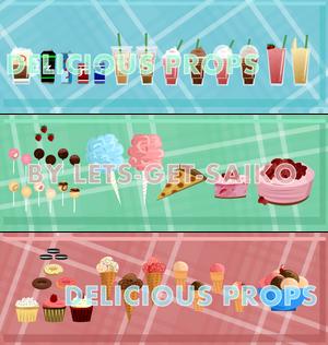 : Delicious Props :