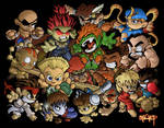 Chibi Street Fighter Group