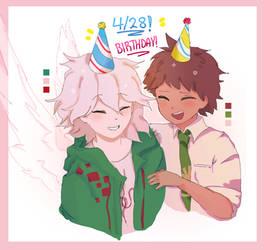 WTFWTFWFwftfwtfw wtf wtf komaeda birthday
