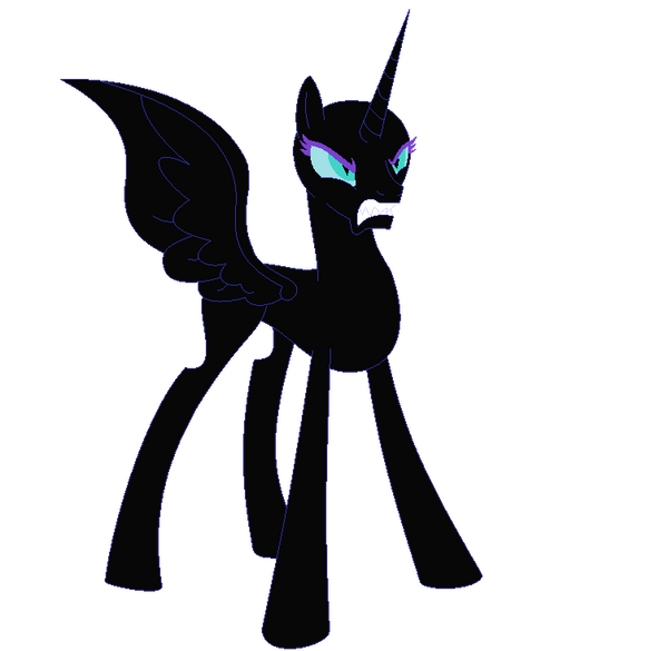 Base 61- Angry Nightmare Moon Is Angry. By Xorderlyxchaosx
