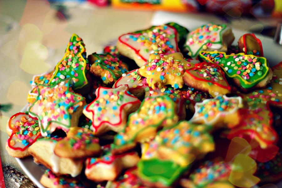 Christmas cookies by shmnk