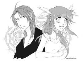 Sym: Zeus + Aara by Zue