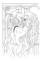 Lineart : Sanctuary by Zue