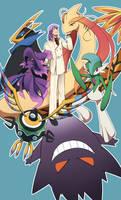 Symphoria/Pokemon?!? - 5th Gym Leader by Zue
