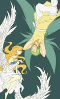 When two spirits meet... by Zue