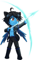 Comm: Chibi Luc by Zue