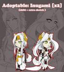 ADOPTABLES: Inugami x2 [SOLD]