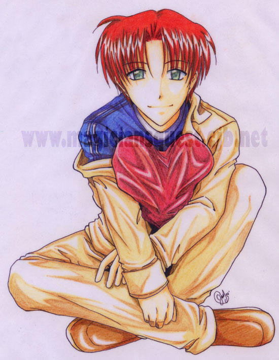 Shin : Color pencil version by Zue