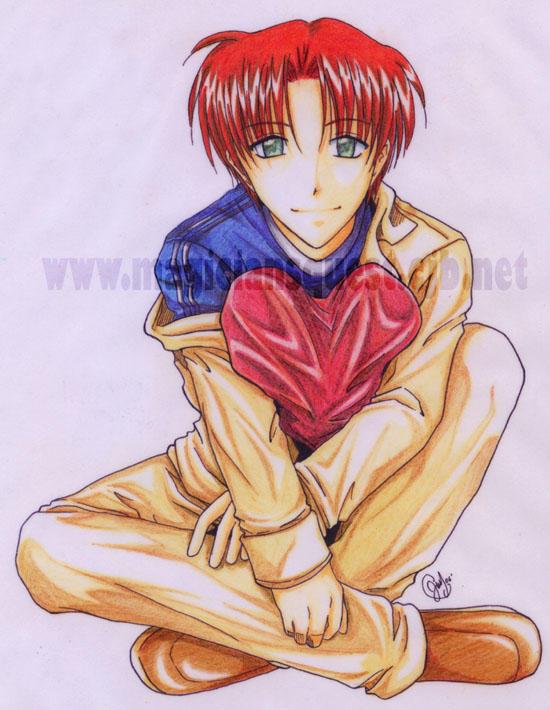 Shin : Color pencil version by Zue
