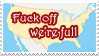 Anti-Immigration Stamp by Nerd-Artist23